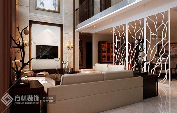 现代简约客厅角度2