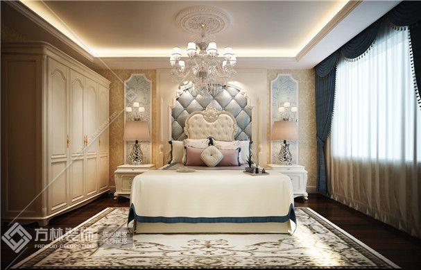 欧式风格卧室角度