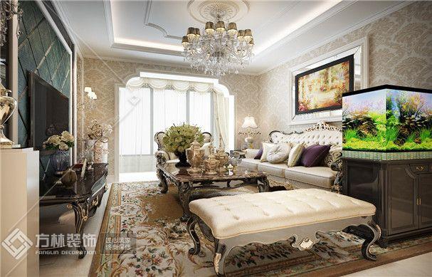 欧式风格客厅角度1